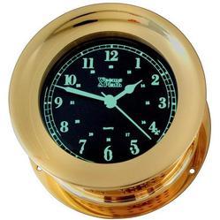 Orion Photo-Luminescent Quartz Ships Bell Clock
