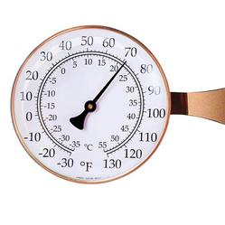 Large Dial Thermometer (Copper)