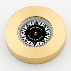 Compass Chart Weight (Brass)