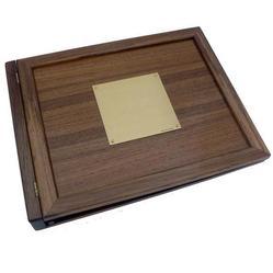 Teak Log Cover, Blank Plate