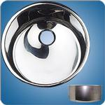 Mirror Finished Cylindrical Basin (#10243)