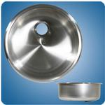 Satin Finished Cylindrical Basin (#10244)