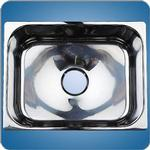 Mirror Finished Rectangular Basin (#10218)
