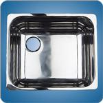 Mirror Finished Rectangular Basin (#10222)