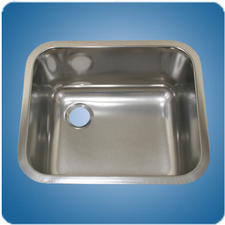 Satin Finished Rectangular Basin (#10210)