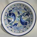 Leaping Fish Small Serving Bowl