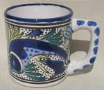 Leaping Fish Coffee Mug Set of 4