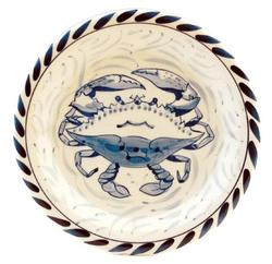 "Blue Claw 7"" Dessert/Bread Plate"