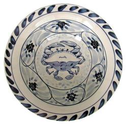 "Blue Claw 6.5"" Cereal Bowl"