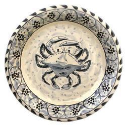 """Blue Claw 12.6"""" Round Platter"""
