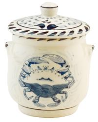 Blue Claw Sugar Jar