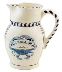 Blue Claw Cream Pitcher