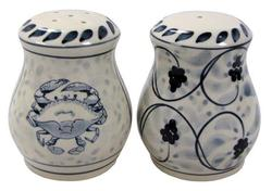 Blue Claw Salt & Pepper Set