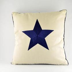 Blue Star Pillow