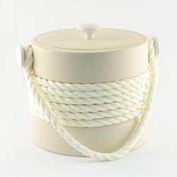 Beige Rope Ice Bucket