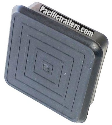 "Plastic End Cap for 2"" x 2"" square steel tubing"