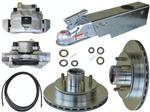 UFP DB-35 Complete Disc Brake Kit w/A-75 Actuator & Reverse Solenoid, 3500lb. Axle