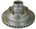 Hub/Rotor Assembly for UFP DB-42 Disc Brakes, 6 lug