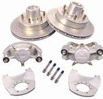 "Kodiak Disc Brake Kit, 12"" Dacromet Hub/Rotor, 5200-6000lb. Axles #2/HRCM-12-DAC-KIT"