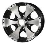 "15"" 6-Lug Aluminum Trailer Wheel (136 Style)"