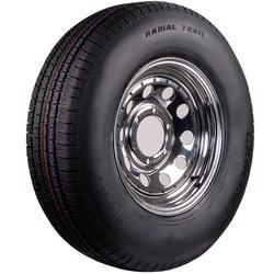 ST215/75R-14C Chrome Wheel & Radial Tire