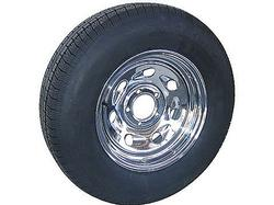 ST225/75R-15D Chrome Wheel & Goodyear Radial Tire (6-Lug)