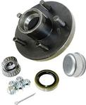 Trailer Wheel Hub KIT for 2000lb. axles - L44643 Bearings - 5 on 4.5""