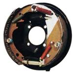 "10"" Free-Backing Left Brake Assembly. #HYDRAULIC/SURGE BRAKE/10""L-Painted"