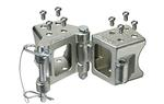 "FULTON Fold-Away Bolt-On Hinge Kit for 3""x 4"" Tongues - 7500lbs. #HDPB340301"