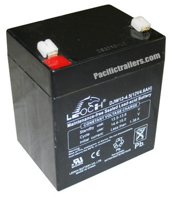 replacement 12 volt dc battery for breakaway kits. Black Bedroom Furniture Sets. Home Design Ideas