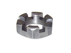 "1""-14 Slotted Spindle Nut"
