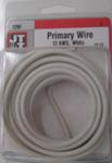 12/1 White Primary Wire 12-Foot