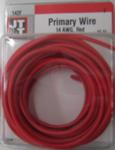 14/1 Red Primary Wire 15-Foot
