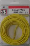 18/1 Yellow Primary Wire 30-Foot