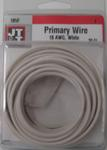 18/1 White Primary Wire 30-Foot