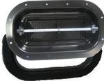 Vent Pop-Up 2-Way Black Steel with Gasket & Screen