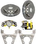"""Disc Brake Kit 3.5K 10"""" Slip-On All Stainless Steel"""
