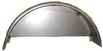"Single Radius Fender 9""W x 16""H x 32""L With Welded-On Back 16-GA"