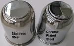Chrome Plated or Stainless Steel - You have a choice!