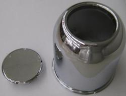 "Trailer Wheel 5.120"" Chrome Center Cap"