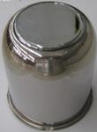 "Trailer Wheel 3.190"" Stainless Steel Center Cap"