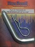 "Hitch Pin 1/2"" x 2-5/8"" with Clip"