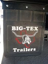"19"" x 24"" Mud Flap w/Big Tex Logo"