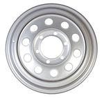 "16"" x 6"" 655 Silver Supreme Steel Wheel"