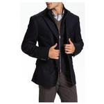 Navy Kroon Ritchie Wool/Cashmere Sport Coat