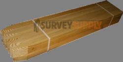 "Survey Stakes - 1"" x 2"" x 24"" (25 per pack)"