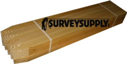"Survey Stakes - 1"" x 2"" x 30"" (25 per pack)"