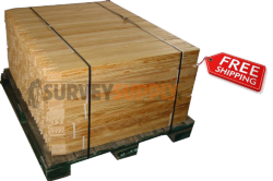 """Lath Stakes - 1/2"""" x 2"""" x 48"""" (pallet of 1500)"""