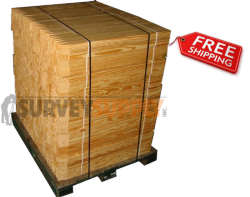 "Survey Stakes - 1"" x 2"" x 30"" (pallet of 1500)"