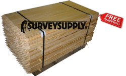 """Tree Stakes - 2"""" x 2"""" x 60"""" (pallet of 500)"""